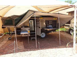 2009 ECHO KAVANGO OFF-ROAD CARAVAN